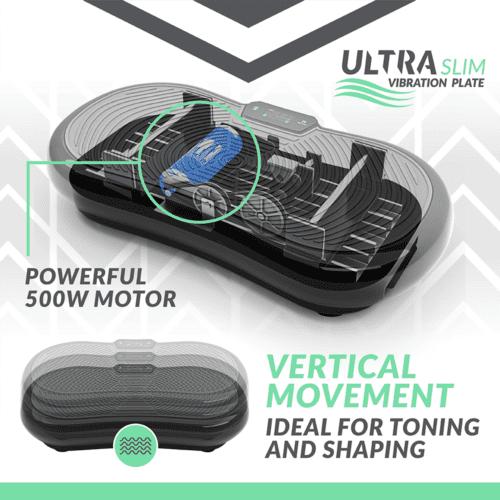 Bluefin ultra slim vibration plate