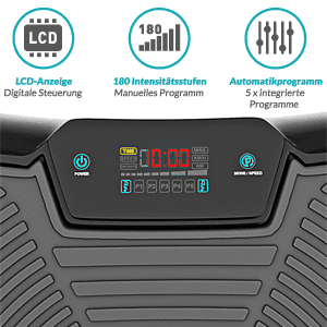 Ultra-Slim Vibrationsplatte, Bluefin Fitness Ultra Slim Vibrationsplatte