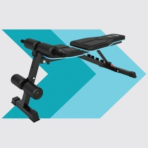 3D Vibration Plate, Multi Functional Folding Weights Bench