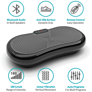 Vibration Plate, Bluefin Fitness Ultra Slim Vibration Plate