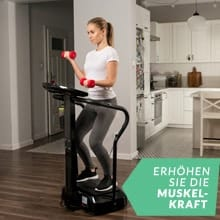 , Profi Vibrations-Platte – Ultra-Leistungsstarker Vibrations-Massage-Trainer