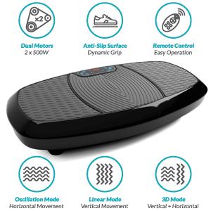 3D Vibration Plate, Dual Motor 3D Vibration Plate