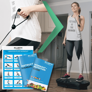 20% OFF Dual Motor 3D Vibration Plate REFURBISHED Black Friday Deals From BlueFin Fitness