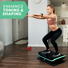 3D Vibration Plate, 4D Vibration Plate with Triple Motors