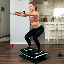 3D Vibration Plate, Plateforme Vibrante et Oscillante 4D Triples Moteurs Silencieux Bluefin Fitness | Idéal pour Fitness et Musculation | Appareil de Massage Anti-Cellulite | Perte de poids rapide RECONDITIONNÉ