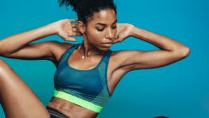 Bluefin vibration plate workout upper abs