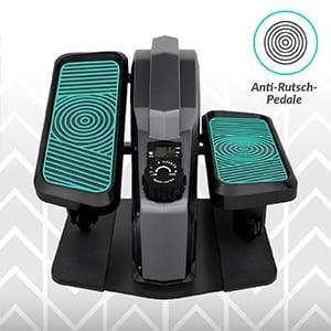 , Bluefin Fitness Curv Mini | Under-Desk-Crosstrainer | Pedal-Trainingsgerät für Zuhause | Einstellbarer Widerstand | Leiser Schwungradmotor | LCD-Bildschirm | Bluetooth | FitShow App-kompatibel
