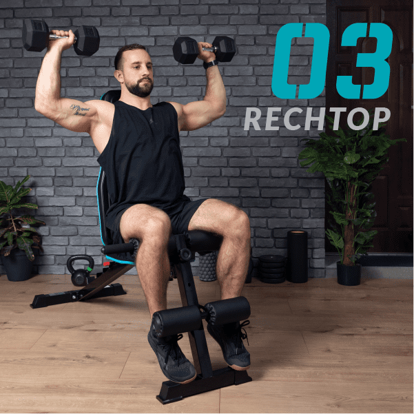 , Multi Functional Folding Weights Bench
