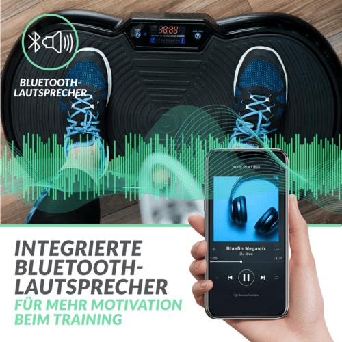 Bluefin ultra-slim vibrationsplatte