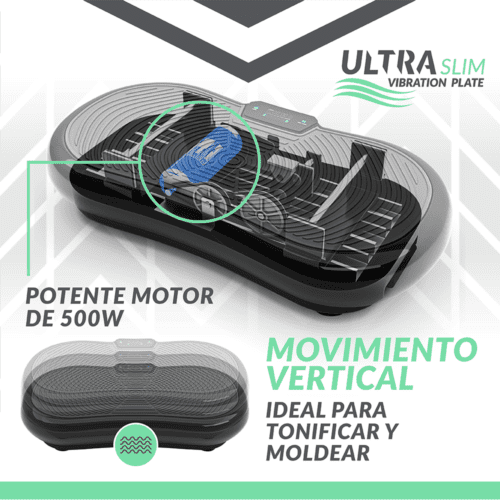 Bluefin plataforma vibratoria ultra slim