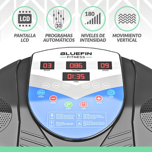 Bluefin pro vibration plate