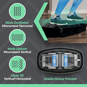 Bluefin 3d vibration plate